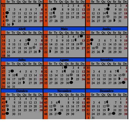 Download Calendario Lunar Para El Mes De Marzo De 2012 Pictures to pin ...