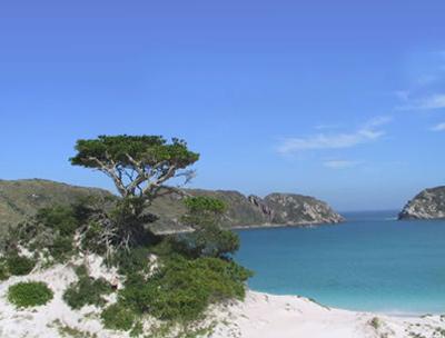Ilha do Farol - Arraial do Cabo – RJ Foto Pousada Rayer Land