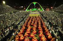 Sambódromo Carnaval Rio de Janeiro Foto Rudy Huhold